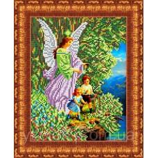 Набор для вышивания бисером: Ангел и дети