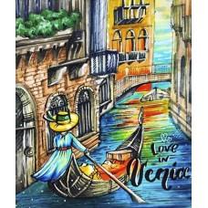 "Набор алмазной вышивки ""Love in Venice"""