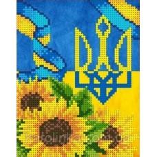 Набор для вышивания бисером: Герб Украины