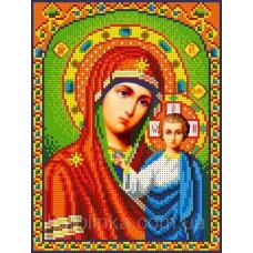 Набор для вышивания бисером: Икона Б.М. Казанская