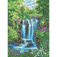 Набор для вышивания бисером: Водопад