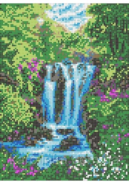 Набор для вышивания бисером: Водопад купить в knigozirka.com.ua