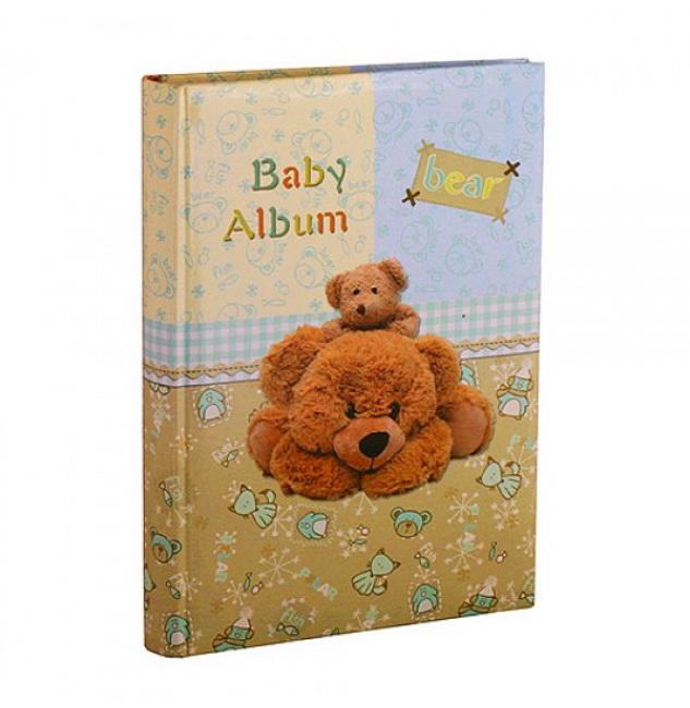 Фотоальбом с самоклеющимися страницами Chako S22x28 20л 9821 Bear