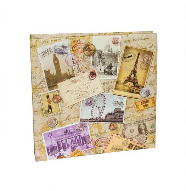 Альбомы с кармашками для фотографий HENZO 10*15/200 CITYTRAVEL 50.218.05